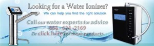 Graphic: Looking for a water ionizer? We can help you find the right solution