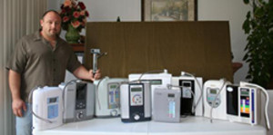 Water ionizers reviewed by water expert Ronnie Ruiz