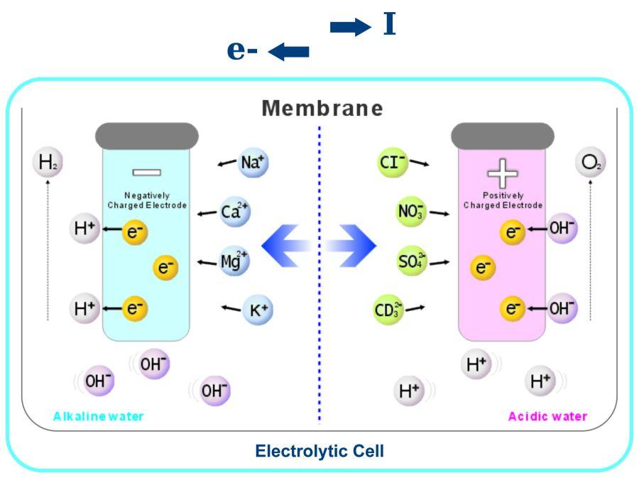 How An Alkaline Water Ionizer Works Diagram Chanson